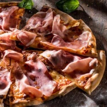 Pizza prosciuto crudo