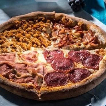 Pizza quatro carni